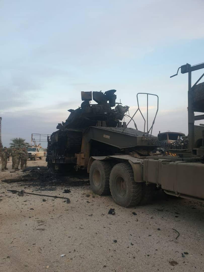 أبطال الجيش العربي السوري يتصدون للهجوم ويلحق النظام التركي ومرتزقته خسائر كبيرة بالأرواح والعتاد على محور سراقب في إدلب