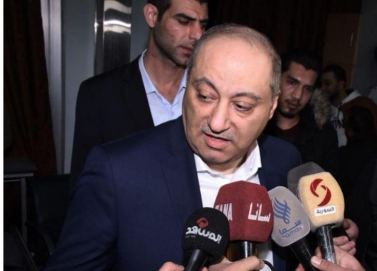 وزير الإعلام يطمئن على الحالة الصحية للزملاء الإعلاميين الذين تعرضوا للإصابة جراء استهداف الإرهابيين لهم بريف حلب الجنوبي الغربي