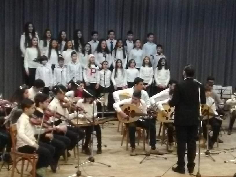 بقعة ضوء للإضاءة على فرقة المعهد العربي للموسيقا بطرطوس