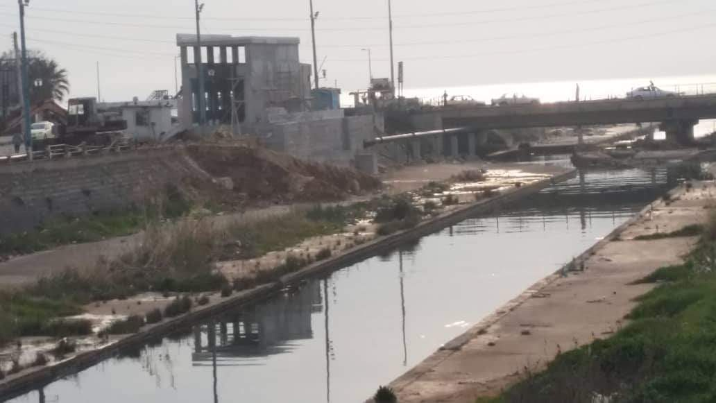 نهر الغمة - رمز يصارع البقاءفي طرطوس
