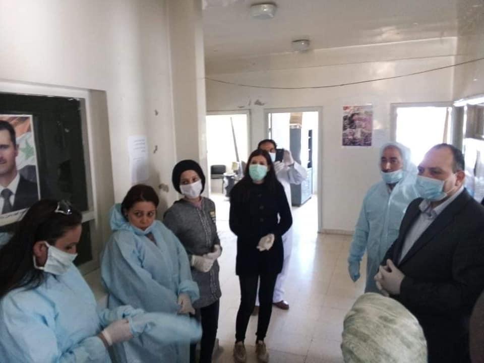 فرج : تجهيز مركزي طوارئ وثلاثة مراكز للحجر الصحي في محافظة ريف دمشق