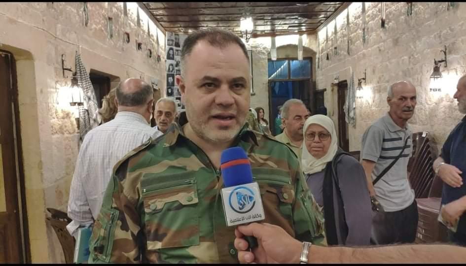 الدكتور المهندس محمد السعيد قائد لواء القدس