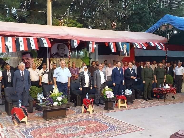 حفل جماهيري بمدينة جرمانا بمناسبة استحقاق مجلس الشعب