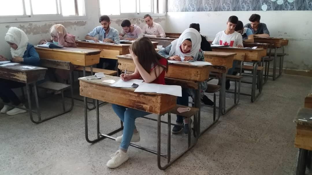 14 ألف طالب وطالبة يؤدون امتحاناتهم في ريف دمشق