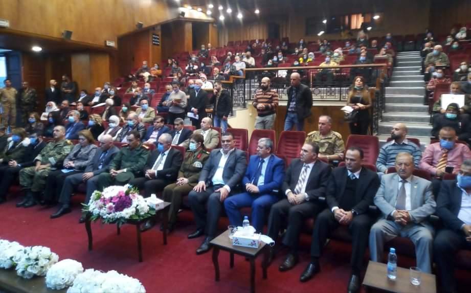 تكريم 119 عائلة شهيد في طرطوس