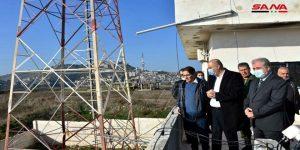 بعد إطلاق البث الإذاعي من محطة الحصن بريف حمص… وزير الإعلام يطلع على مراحل تأهيل محطة الإرسال بحلب