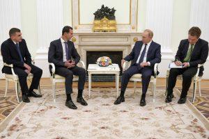 الأسد وبوتين في قمة سورية روسية بموسكو … و تطوير ملفات التعاون الثنائي ومكافحة الإرهاب